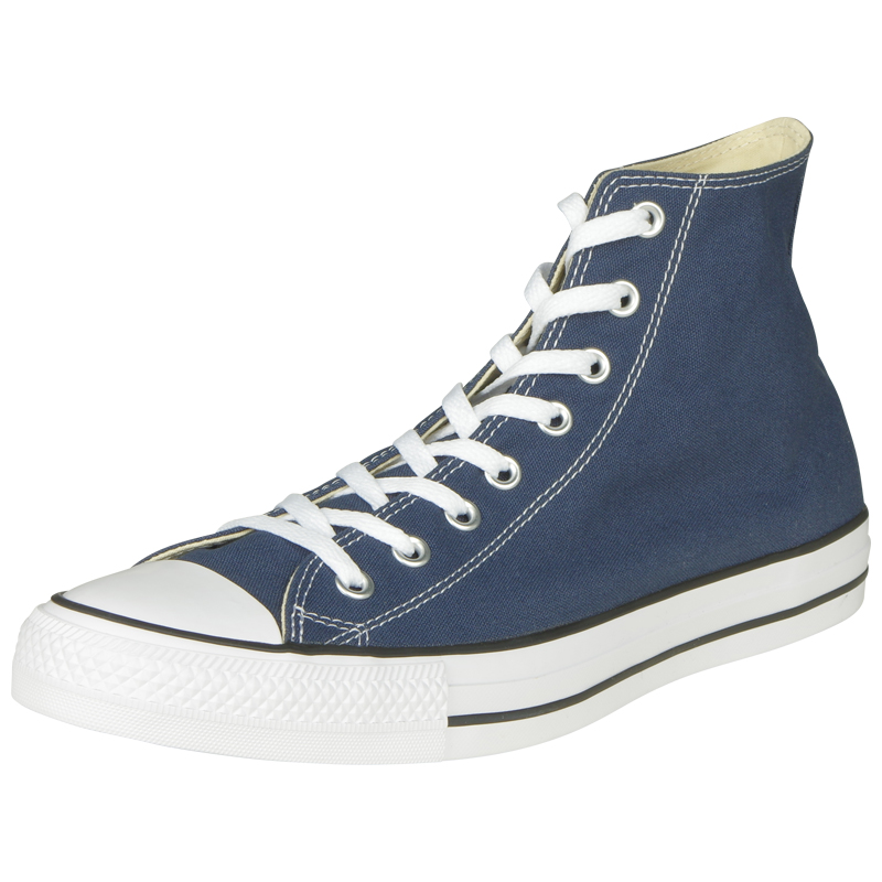 Chaussures montantes Converse Chuck Taylor All Star grande taille marine