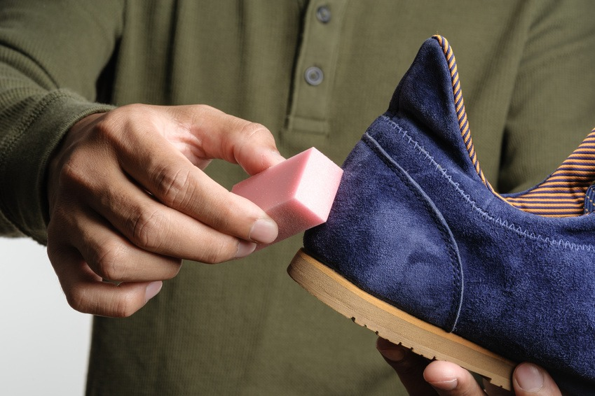 Imperméabilisation chaussure daim