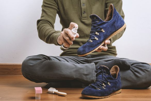 Nettoyage chaussures daim