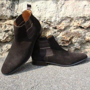 chaussures daim entretien