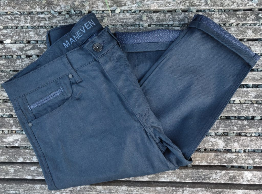 jeans maneven tissu