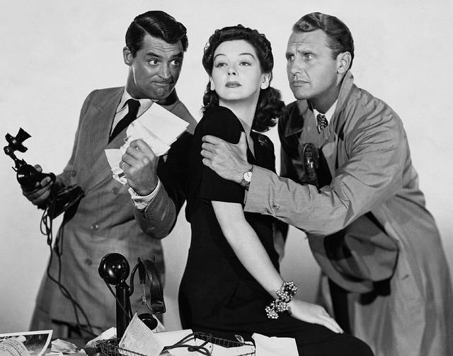 costume à carreaux cinema années 50