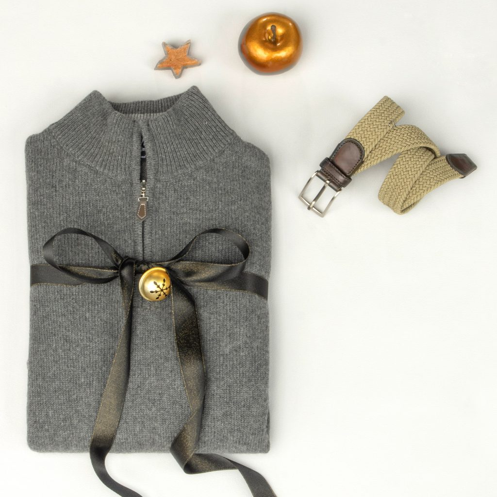 pull grande taille gris
