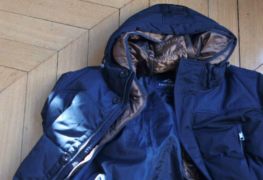 Doudoune longue marine Hastorg : test & avis