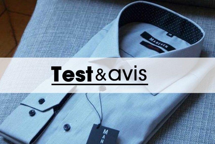 La chemise Maneven manches extra-longues : test & avis