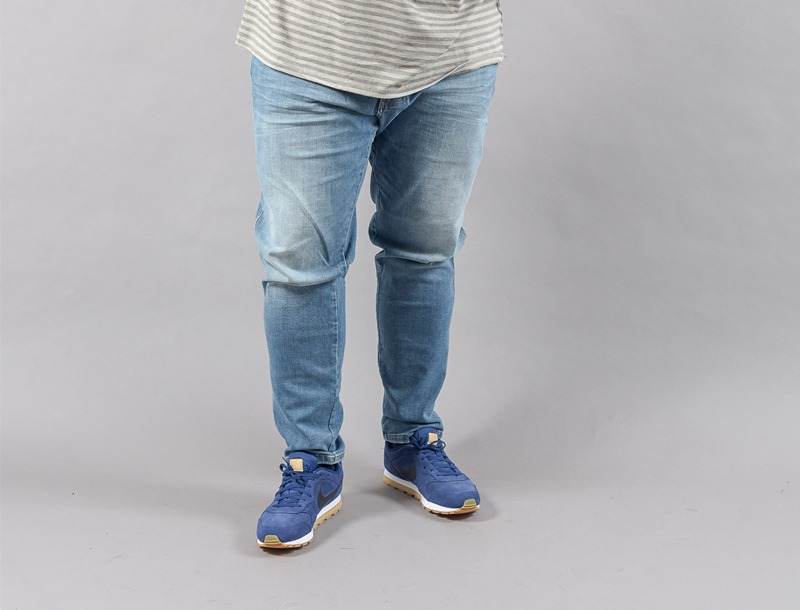 Jean grande taille homme fort