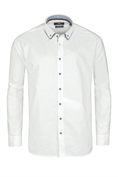 Chemise blanche Hastorg homme fort