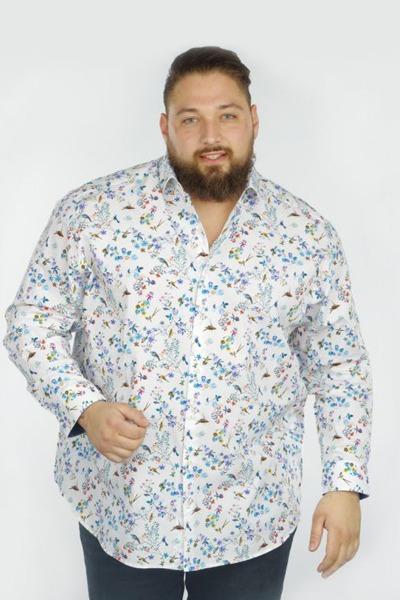 Chemise à motif fleuri - SF