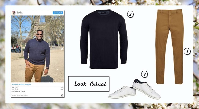 Look Casual - 5 looks grande taille - SF