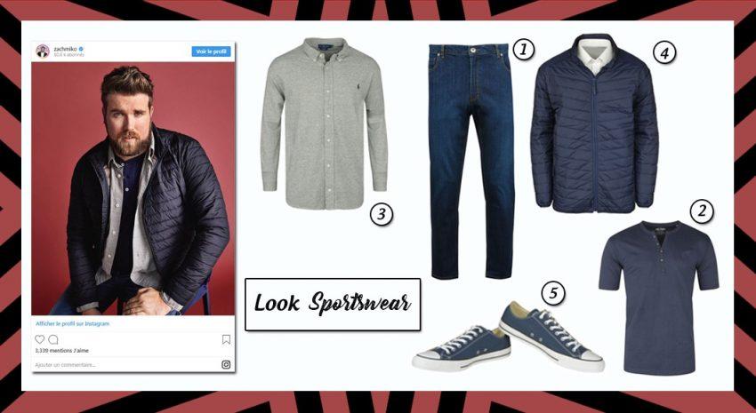 Look Sportswear - 5 looks grande taille - SF