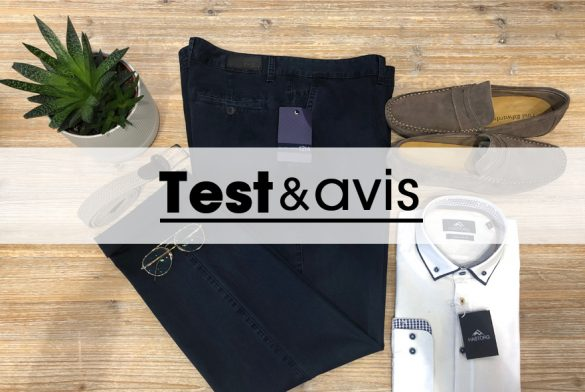 Pantalon en tencel grande taille test