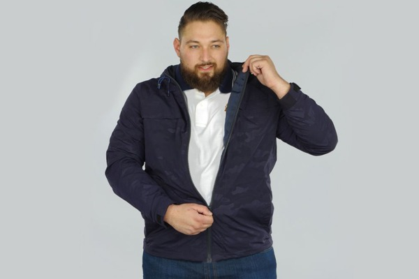 parka camouflage grande taille