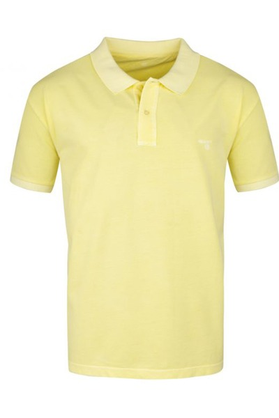 polo grande taille jaune homme