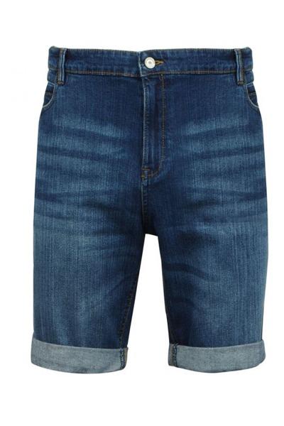 Short en jean grande taille