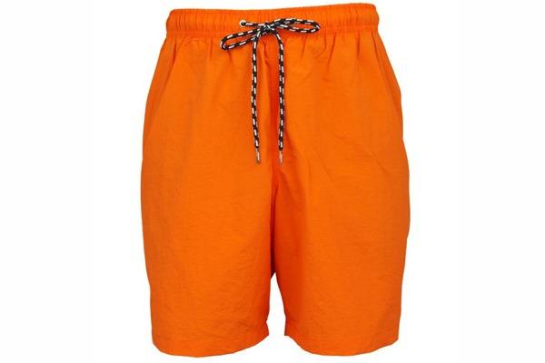 Short de bain grande taille orange