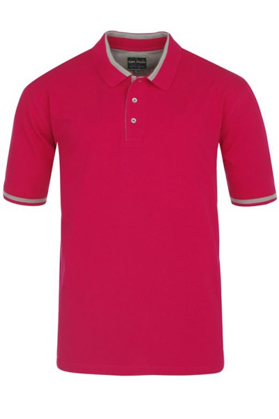 polo grande taille framboise