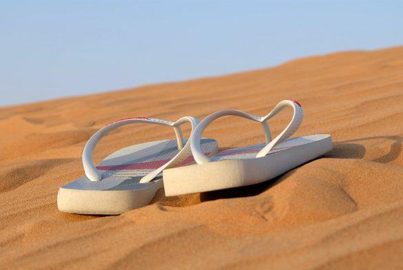 Vacances d'été : les tongs sont de sortie !