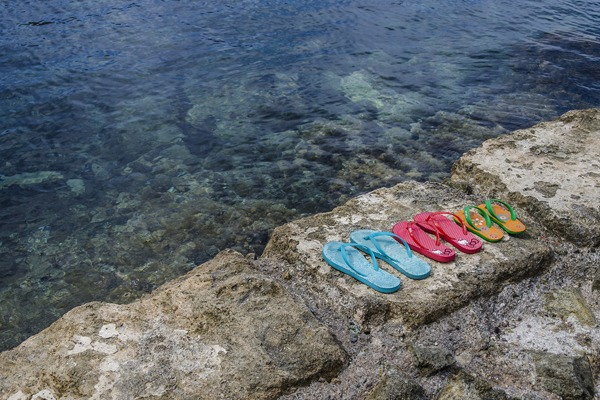 La tong, une chaussure pensée pour l'été