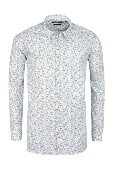 Chemise homme grande taille clair
