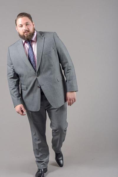 Costume couleur gris
