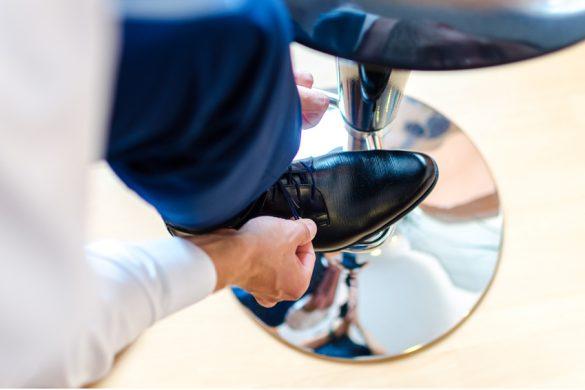 Visuel de mise en avant chaussures grande taille